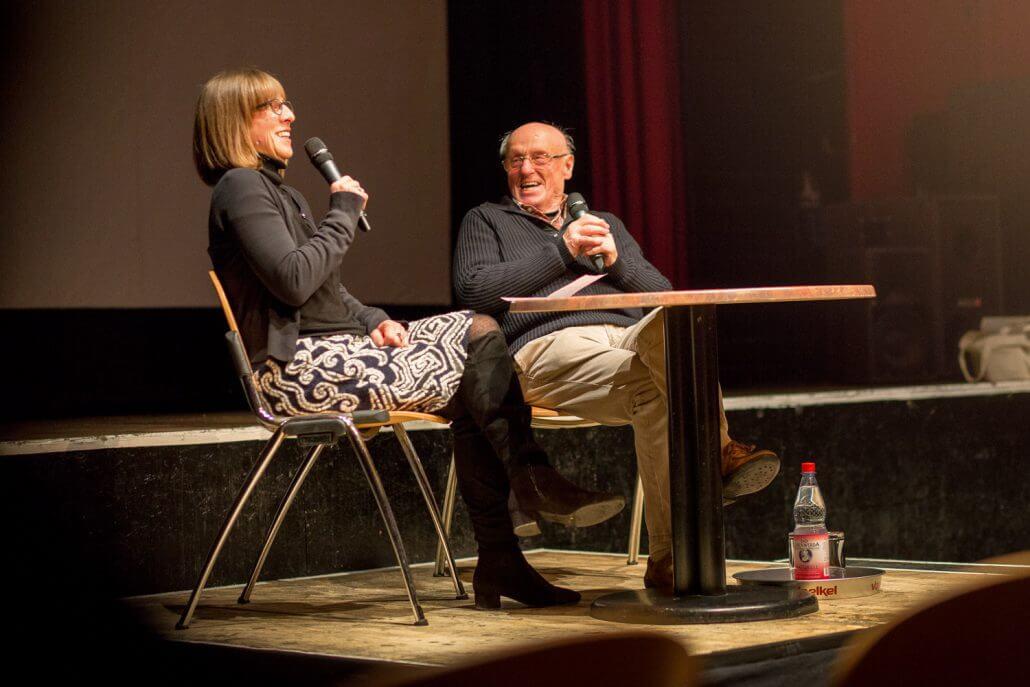 """Filmgespräch mit Jurij Koch zu seinem Film """"Tanz auf der Kippe"""", FilmFestival/Gladhouse Cottbus (Foto: Clemens Schiesko)"""
