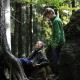 Filmstill: Peters Wald, Grit Lemke
